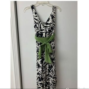 Ann Taylor dress with sash. Very good condition.